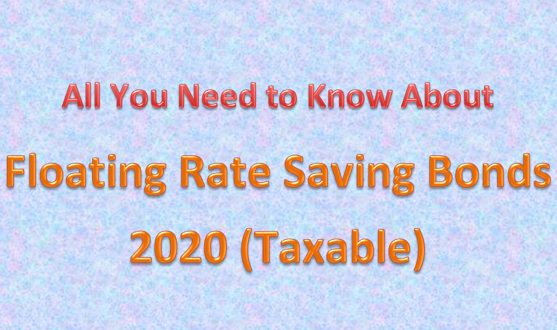 Floating Rate Saving Bonds
