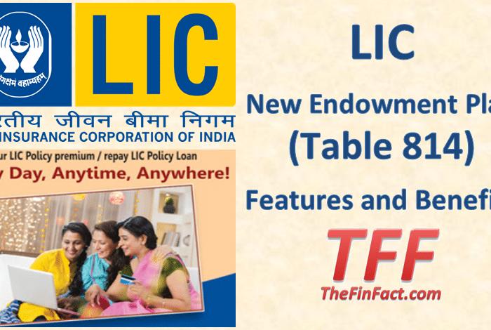 LIC New Endowment Plan (Table 814)